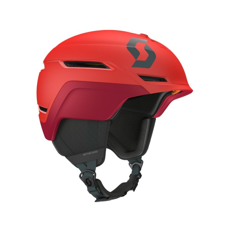 Helmet SKI SC SYMBOL 2 PLUS D radiant red 18 L