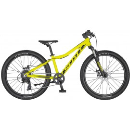 Bicikleta SCOTT SCALE 24 disc yellow-black