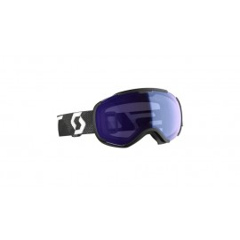 Syza skijimi SC FAZE II black-white-illuminator blue chrome
